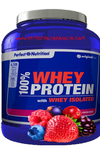 100%WHEY PROTEÍN WITH ISOLATED PERFECT NUTRITION