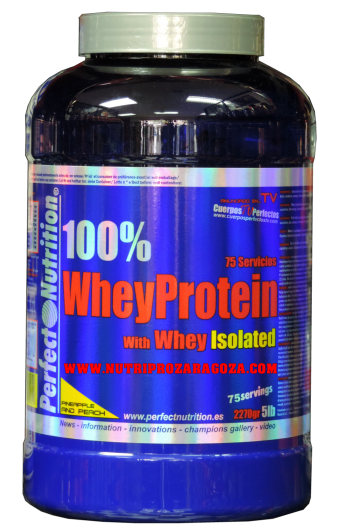 100 % Whey Protein 5 LB. (2270 gr.)
