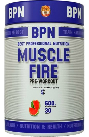 MUSCLE FIRE PRE-WORKOUT 600 grs.