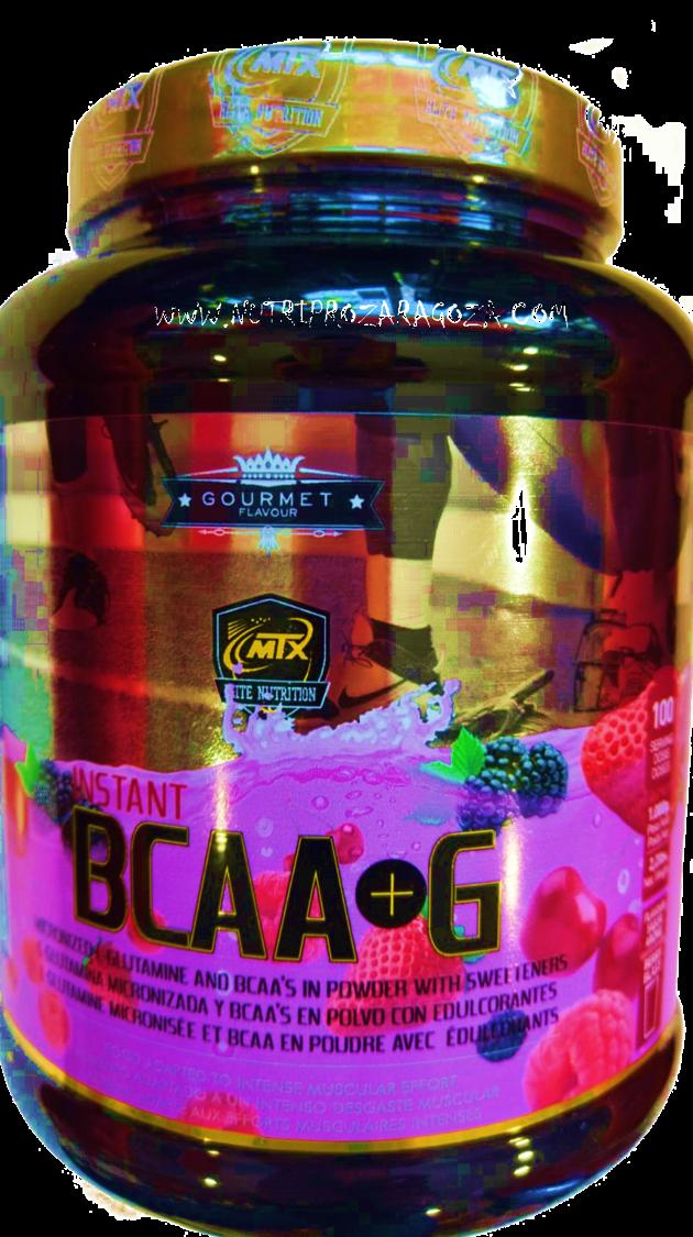 bccas con glutamina un kg nutripro zaragoza puros frutos rojos